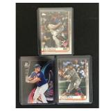 Three Pete Alonso Rookie Cards