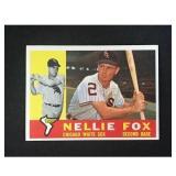 1960 Topps Nellie Fox  Exmt