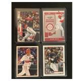 Four Juan Soto Baseball Cards