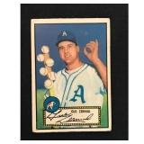 1952 Topps Gus Zernial Card