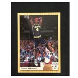 High Grade 1993 Classic Chris Webber Rookie