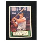 1952 Topps Ted Kluszewski Card