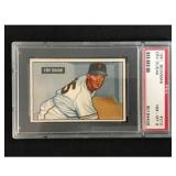 1951 Bowman Baseball Erv Dusak Psa 8