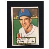 1952 Topps Johnny Pesky Card