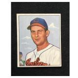 1950 Bowman Bob Lemon Card