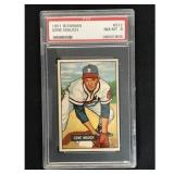 1951 Bowman Baseball Gene Mauch Rookie Psa 8