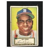 1952 Topps Sam Jethroe Card