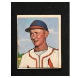 1950 Bowman Red Schoenienst Card