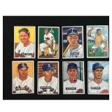 50 1951 Bowman Baseball Cards Low Grade