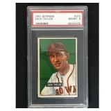 1951 Bowman Baseball Zack Taylor Psa 8