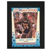 1989 Fleer Sticker Magic Johnson High Grade