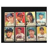 10 1952 Topps Baseball Low Grade Cards