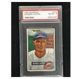 1951 Bowman Baseball Warren Hacker Psa 8
