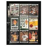9 Modern Basketball Cards Kobe/lebron/curry