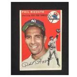 1954 Topps Phil Rizzuto Card