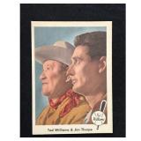 1959 Fleer Ted Williams/jim Thorpe Card