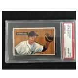 1951 Bowman Baseball George Kell Hof Psa 8