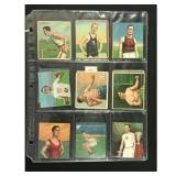 15 1910 Track And Field Cards Many Trimmed
