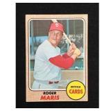 1968 Topps Roger Maris Card