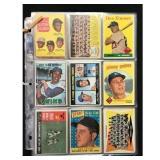 63 Vintage Baseball Cards 1959-1967