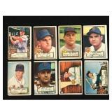 10 1952 Topps Baseball Cards