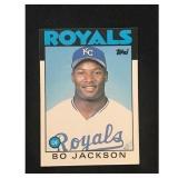 1986 Topps Traded Bo Jackson High Grade