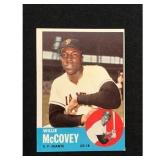 1963 Topps Willie Mccovey Card