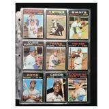45 1971 Topps Baseball Cards With Hof