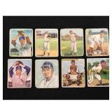 13 Low Grade 1950 Bowman Baseball Cards