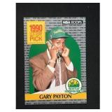 1990 Hoops Gary Payton Rookie High Grade