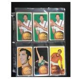17 1970-71 Topps Basketball Cards