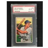 1951 Bowman Baseball Mickey Vernon Psa 8