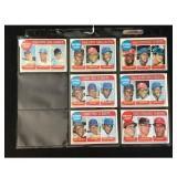 7 1969 Topps Baseball Leader Cards
