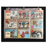 61 1968 Topps Baseball Cards With Hof
