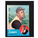 1963 Topps Roberto Clemente Card