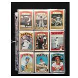 25 1972 Topps Baseball Cards