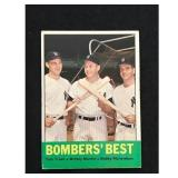 1963 Topps Bombers Best Mickey Mantle