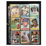 13 1966 Topps Baseball Cards With Hof