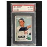1951 Bowman Baseball Andy Pafko Psa 8