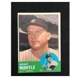 1963 Topps Mickey Mantle Card