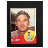 1963 Topps Harmon Killebrew Card