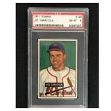1951 Bowman Baseball Joe Garagiola Rookie Psa 8
