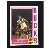 1974-75 Topps Oscar Robertson Card