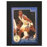 1985 Star Michael Jordan Error Card