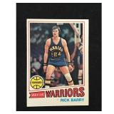 1977 Topps Basketball Rick Barry Card
