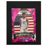 2020 Prizm James Wiseman Rookie Card