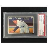 1951 Bowman Baseball Bill Pierce Rookie Psa 8