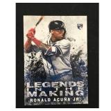 2018 Topps Ronald Acuna Rookie Card
