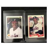 Two Sammy Sosa Rookie Cards