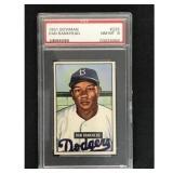 1951 Bowman Baseball Dan Bankhead Psa 8